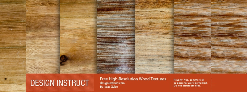 Free High-Resolution Wood Textures