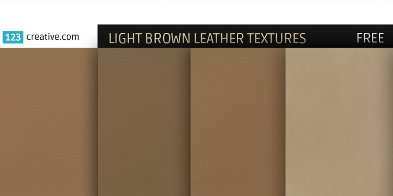Free Light Brown Leather Textures