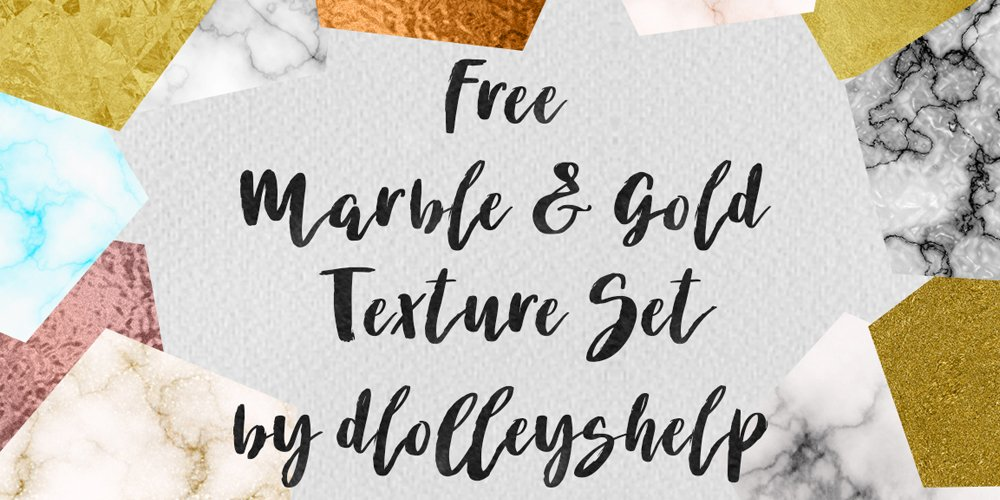 Free Marble and Gold Textures