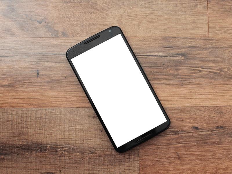Free Nexus 6 Mockup Templates PSD