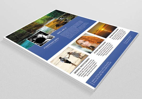 Free Photography Flyer PSD