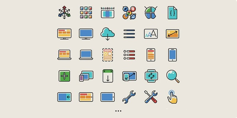 Free Responsive And Mobile Icons