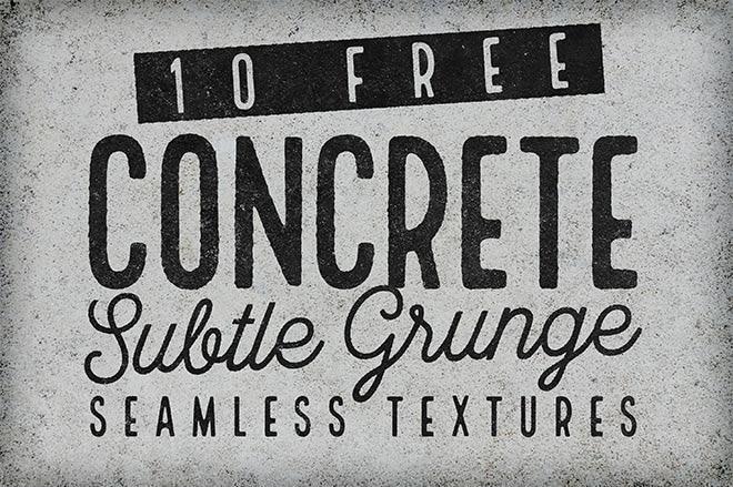 Free Seamless Subtle Grunge Concrete Textures