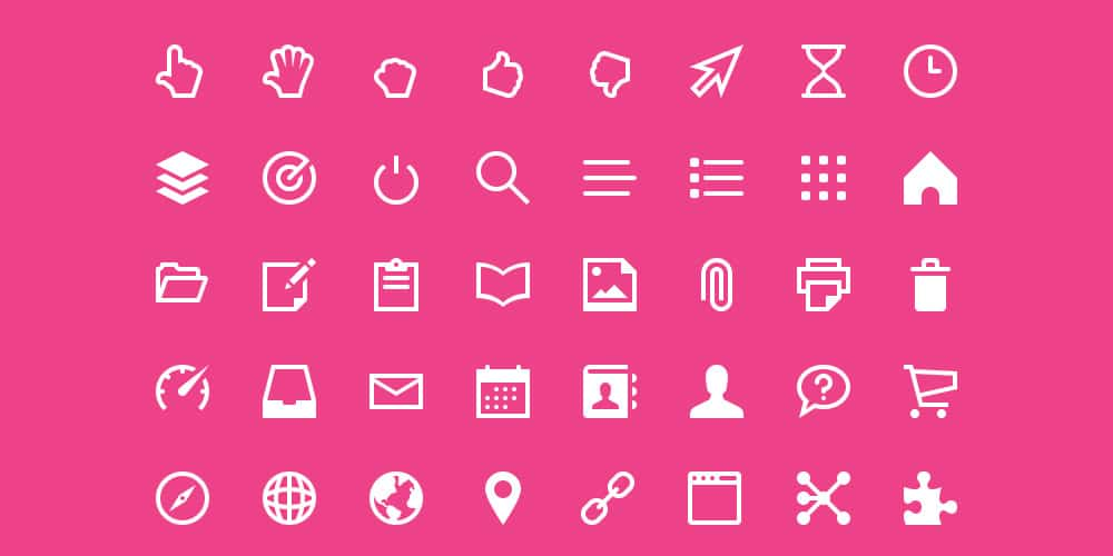 Free Touch Icons