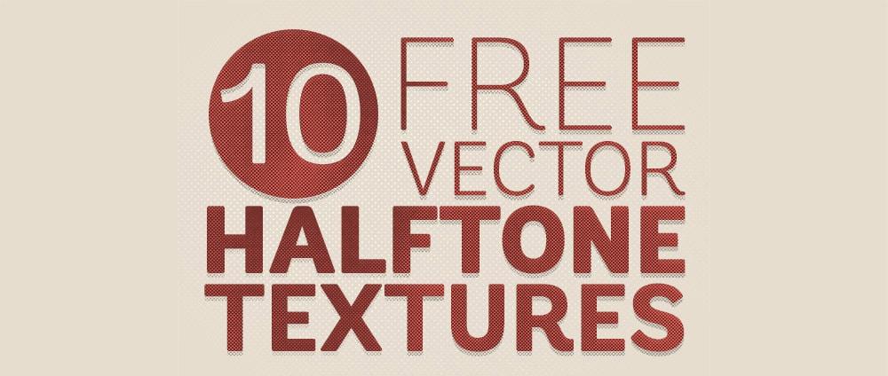 Free Vector Halftone Texture