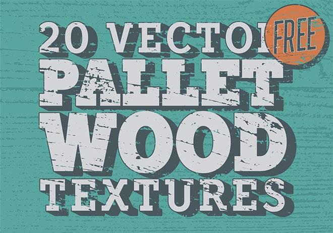 Free Vector Pallet Wood Textures