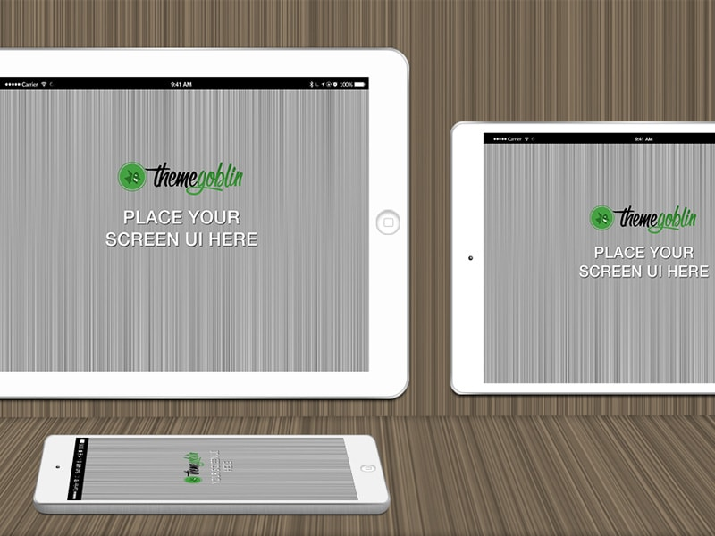 Free iPhone, iPad Mockup PSD