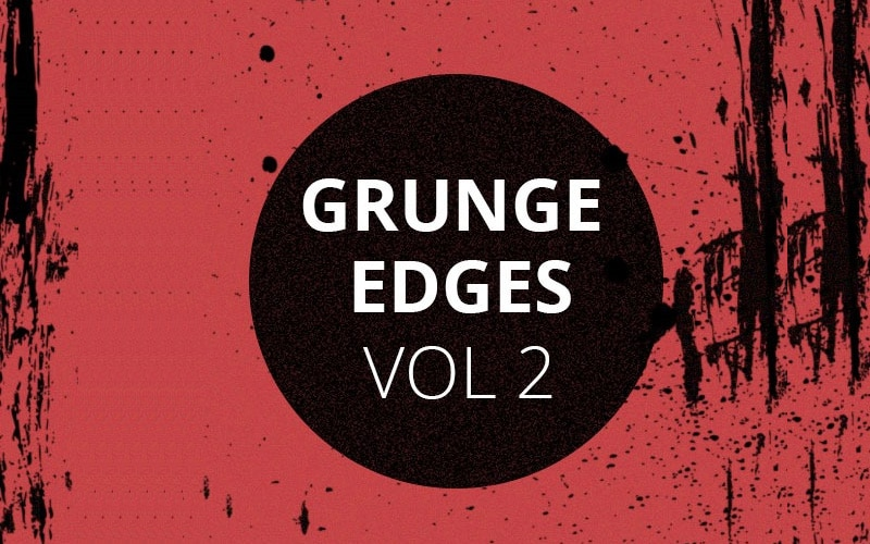 Grunge Edges Photoshop Brush Set