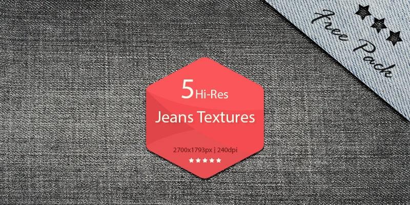 Hi-Res Jeans Textures