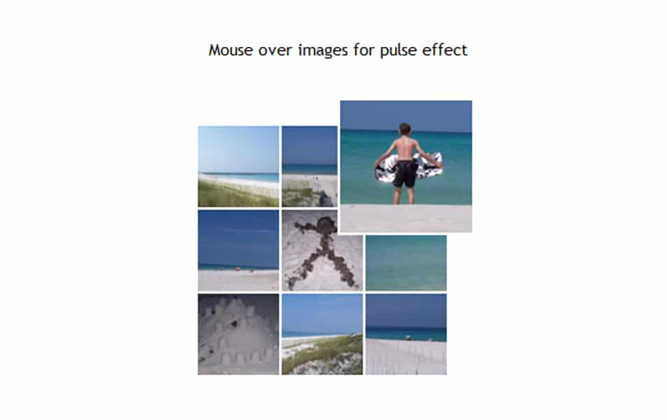 HoverPulse jQuery Plugin