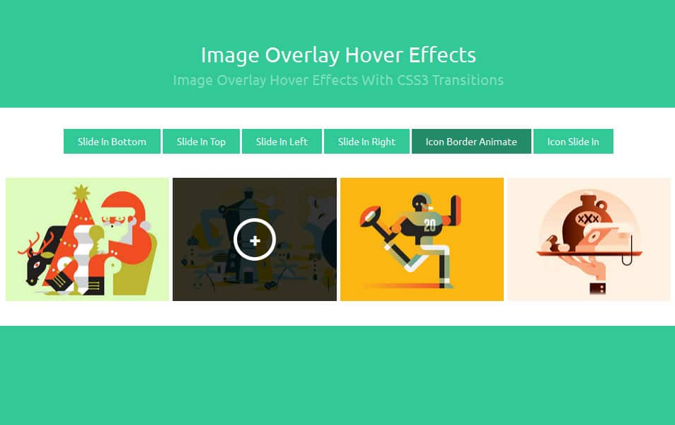 Image Overlay Hover Effects With CSS3 Transitions