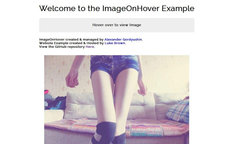 ImageOnHover