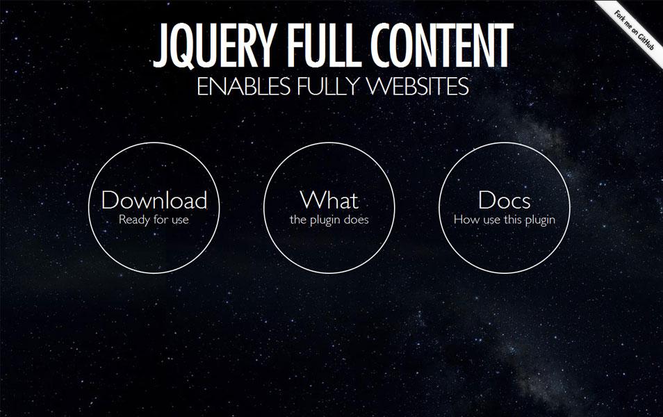 Jquery fullContent.js