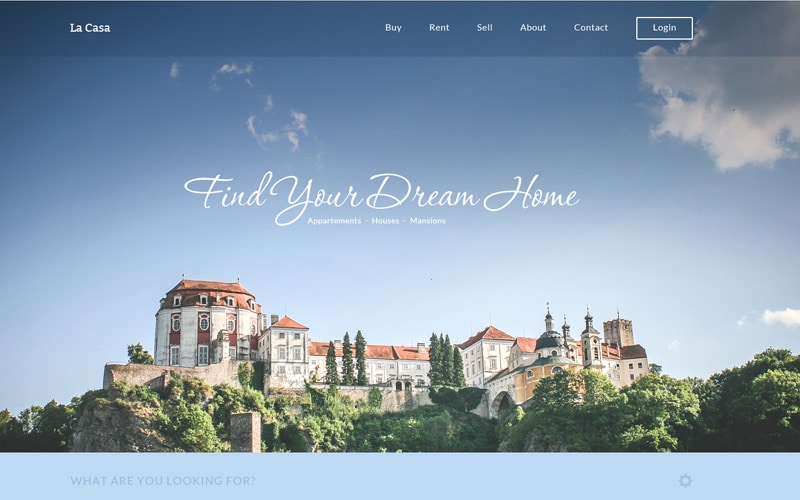 La Casa – Free Real Estate Fully Responsive HTML5/CSS3 Home Page Template