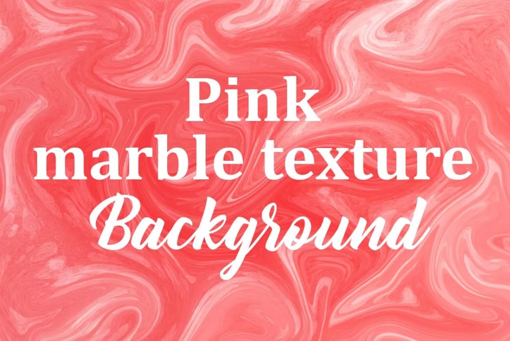 Pink Marble Watercolor Texture