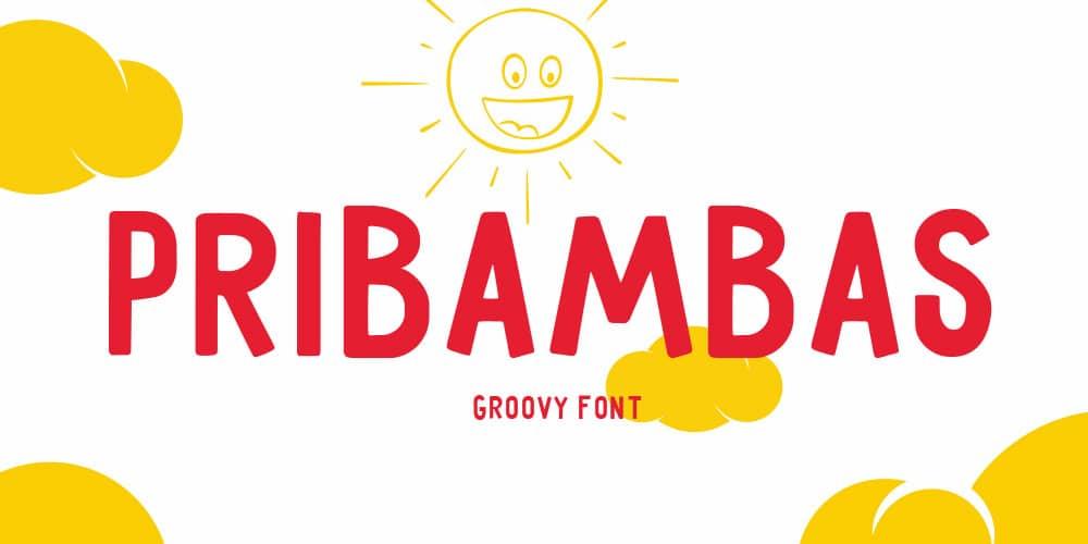 Pribambas Free Typeface