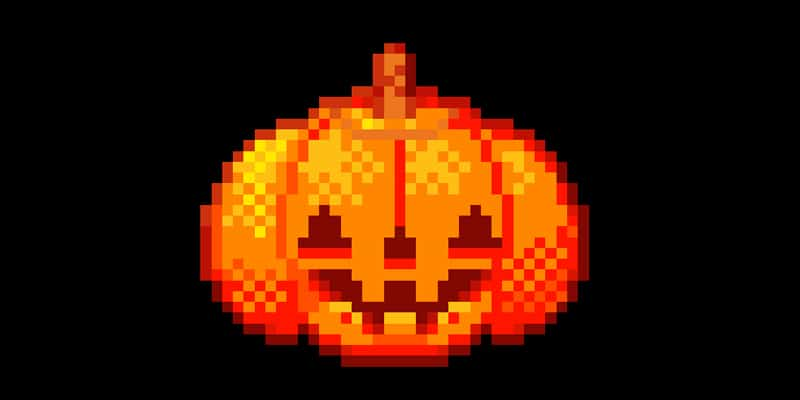 Make an Animated Pumpkin Icon Using Pixel Art in Adobe Photoshop