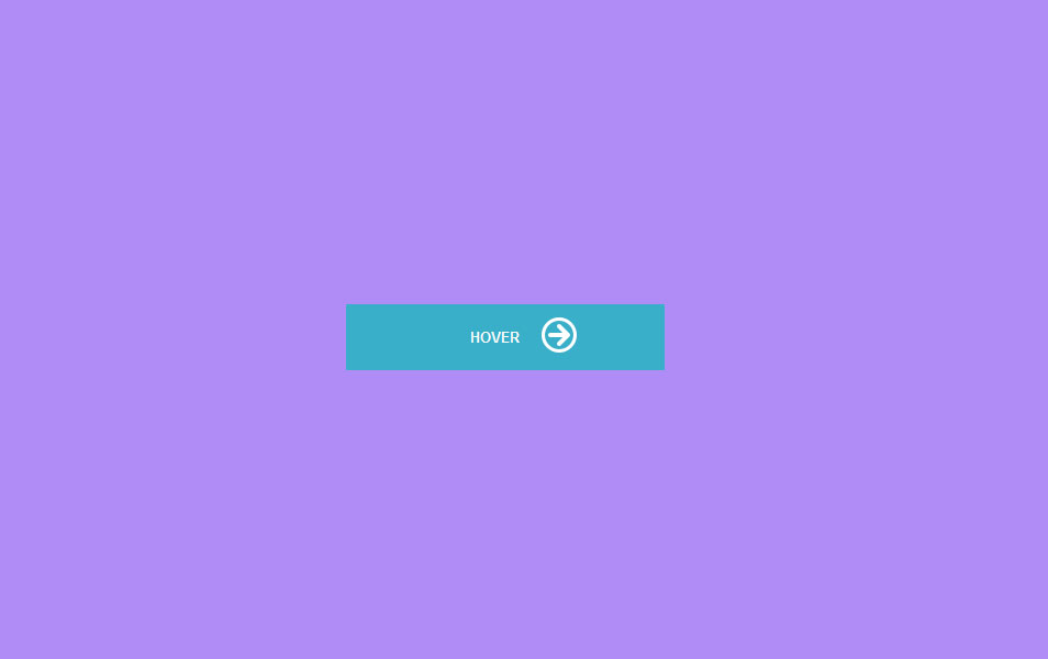 Pure CSS easing button hover effect with fading icon