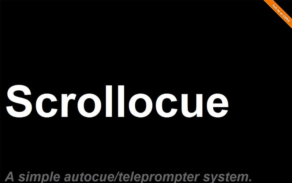 Scrollocue