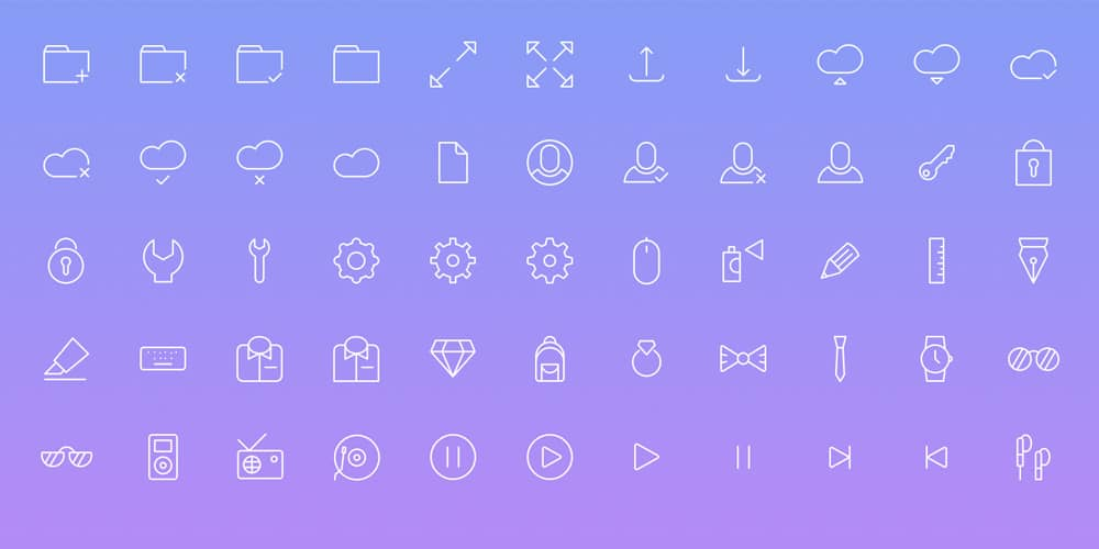 simple-line-icons-psd