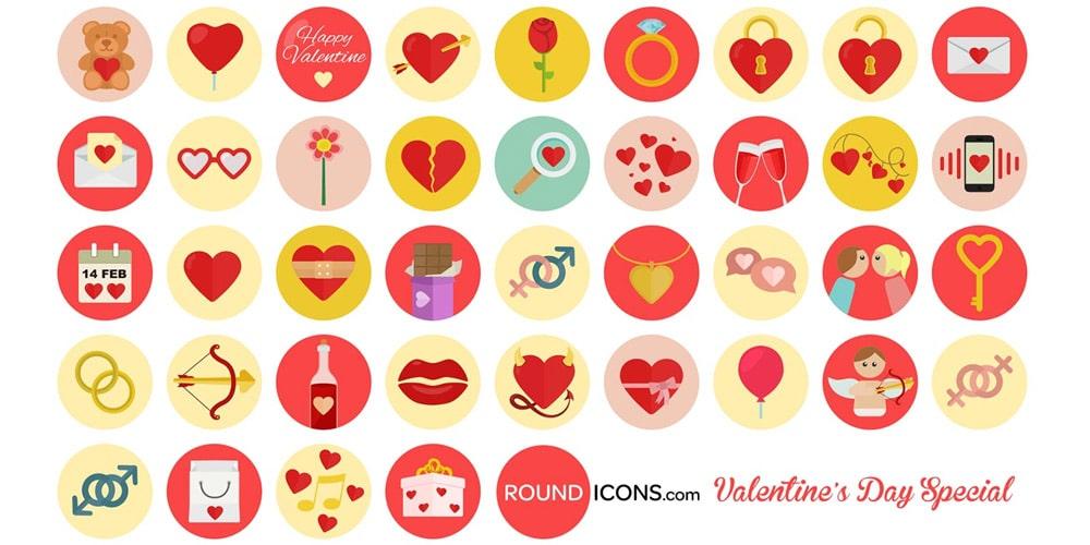 Valentine s Icons