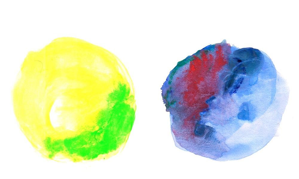 WaterColor Circle Textures