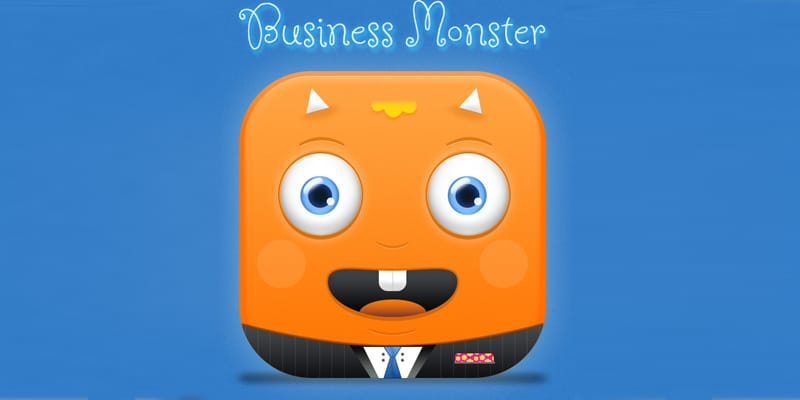 business-monster-icon