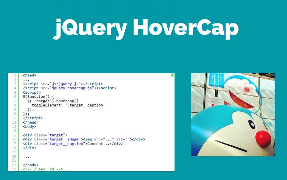 jquery-hovercap