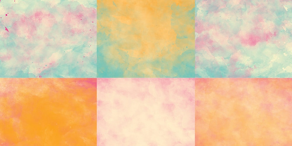 watercolor textures