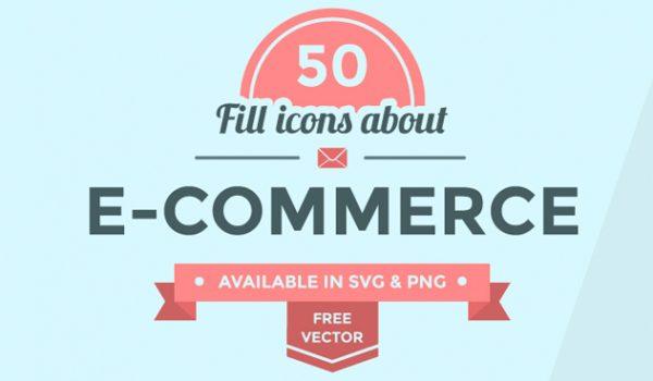 50+ Ecommerce Icon Set - cssauthor.com