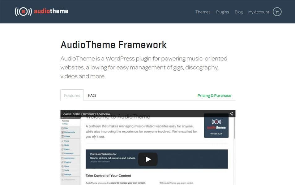 AudioTheme Framework