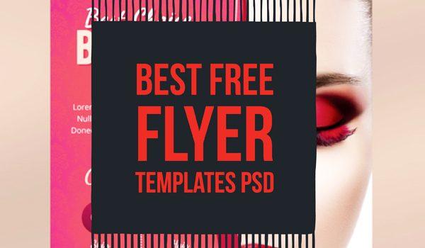 Best Free Flyer Templates PSD