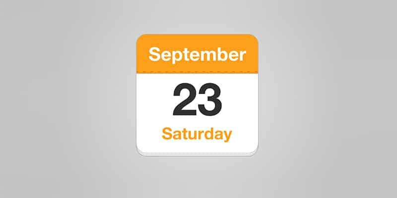 Calendar App Icon