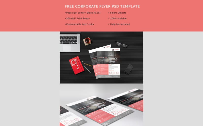 Corporate Free Flyers Template