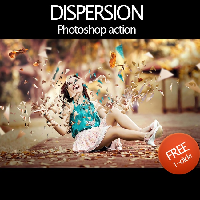 Dispersion-Effect-Photoshop-Free-Action