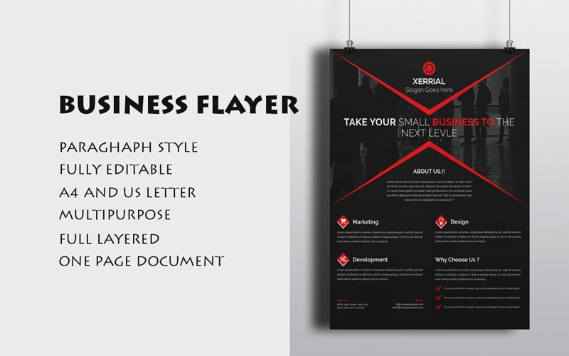 Free-Business-Flyer-PSD