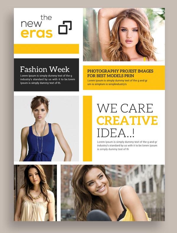Free Fashion Flyer PSD