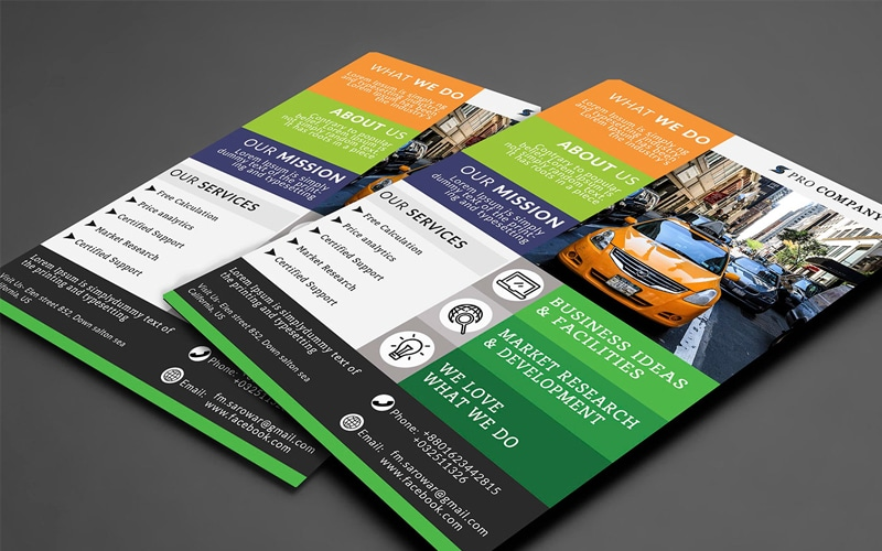 Free Flyer Design with PSD