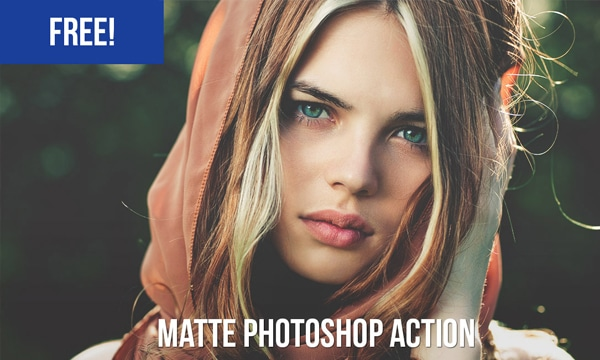 Free Matte Photoshop Action