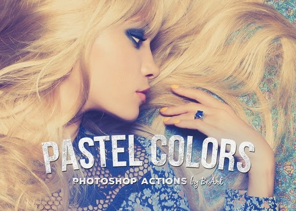 Free Pastel Colors Photoshop Actions