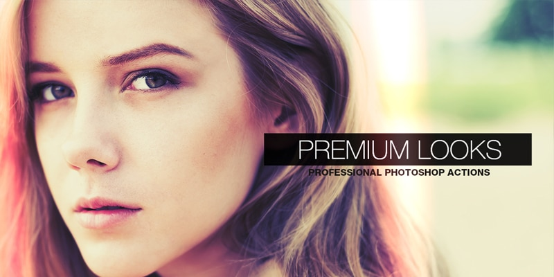 Free Premium Looks Photoshop Actions