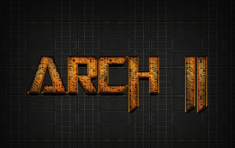 Free SCI - FI Photoshop Text Effect