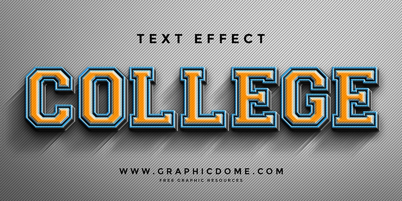 Free-Text-Effect-PSD