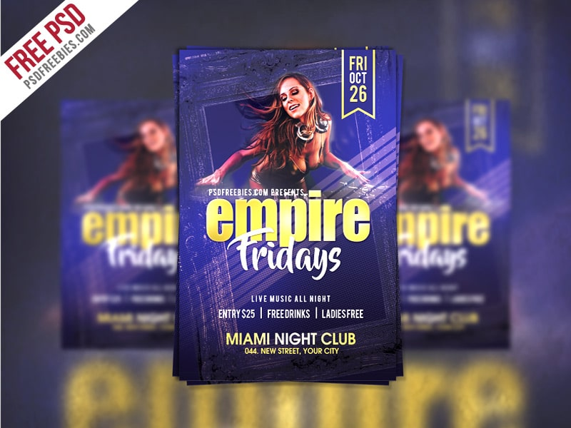 Friday-Party-Flyer-Template-PSD