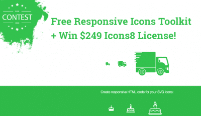 Get the Free Responsive Icons Toolkit