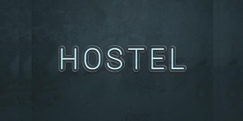 Hostel Text Effect