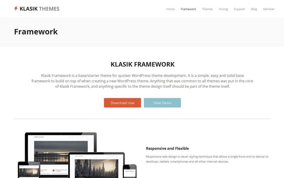 Klasik Framework