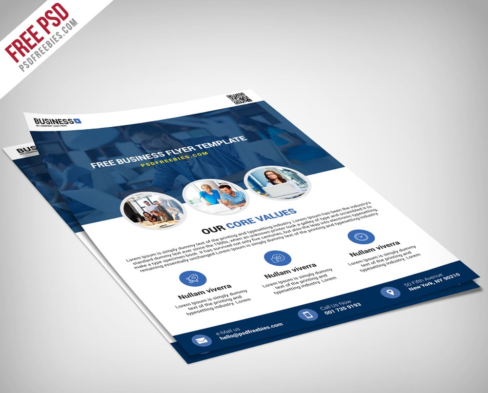 Multipurpose Business Flyer Template PSD