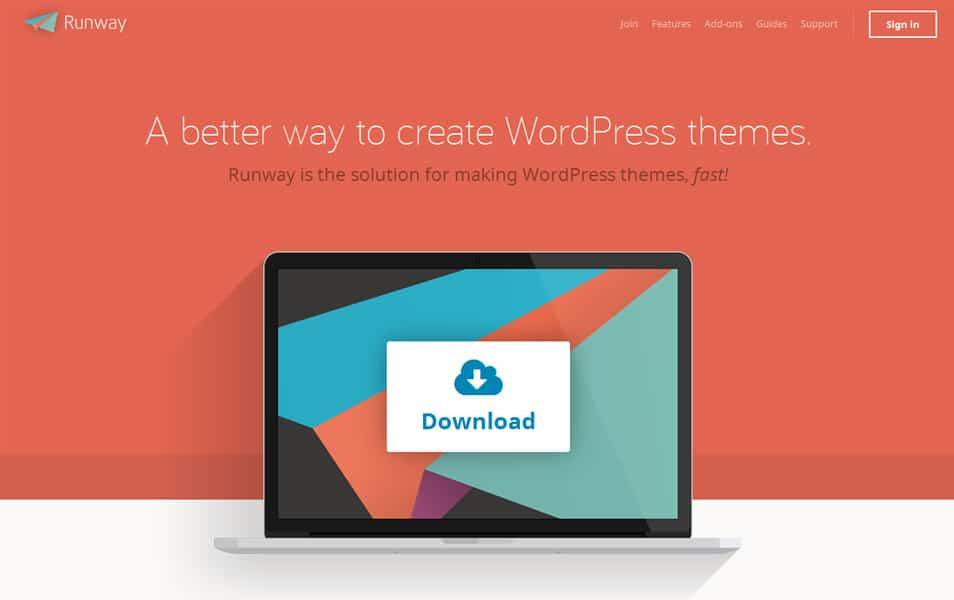 Runway WordPress Framework