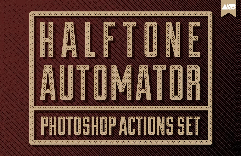 halftone automator photoshop actions